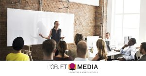 L'objet media présenté aux étudiants en communication partout en France